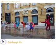 PTE Táncegyüttes - Széchenyi tér