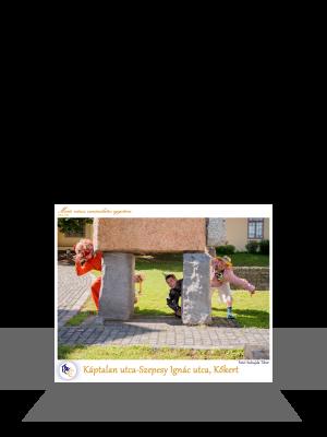 PTE Táncegyüttes - Káptalan utca-Szepesy Ignác utca, Kőkert